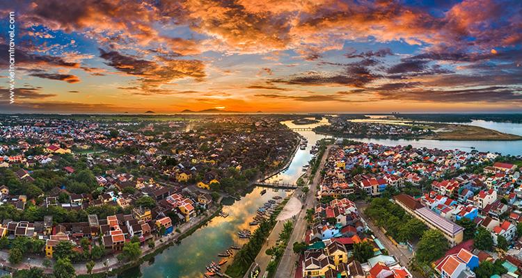 Hoai River, hoi an, vietnam