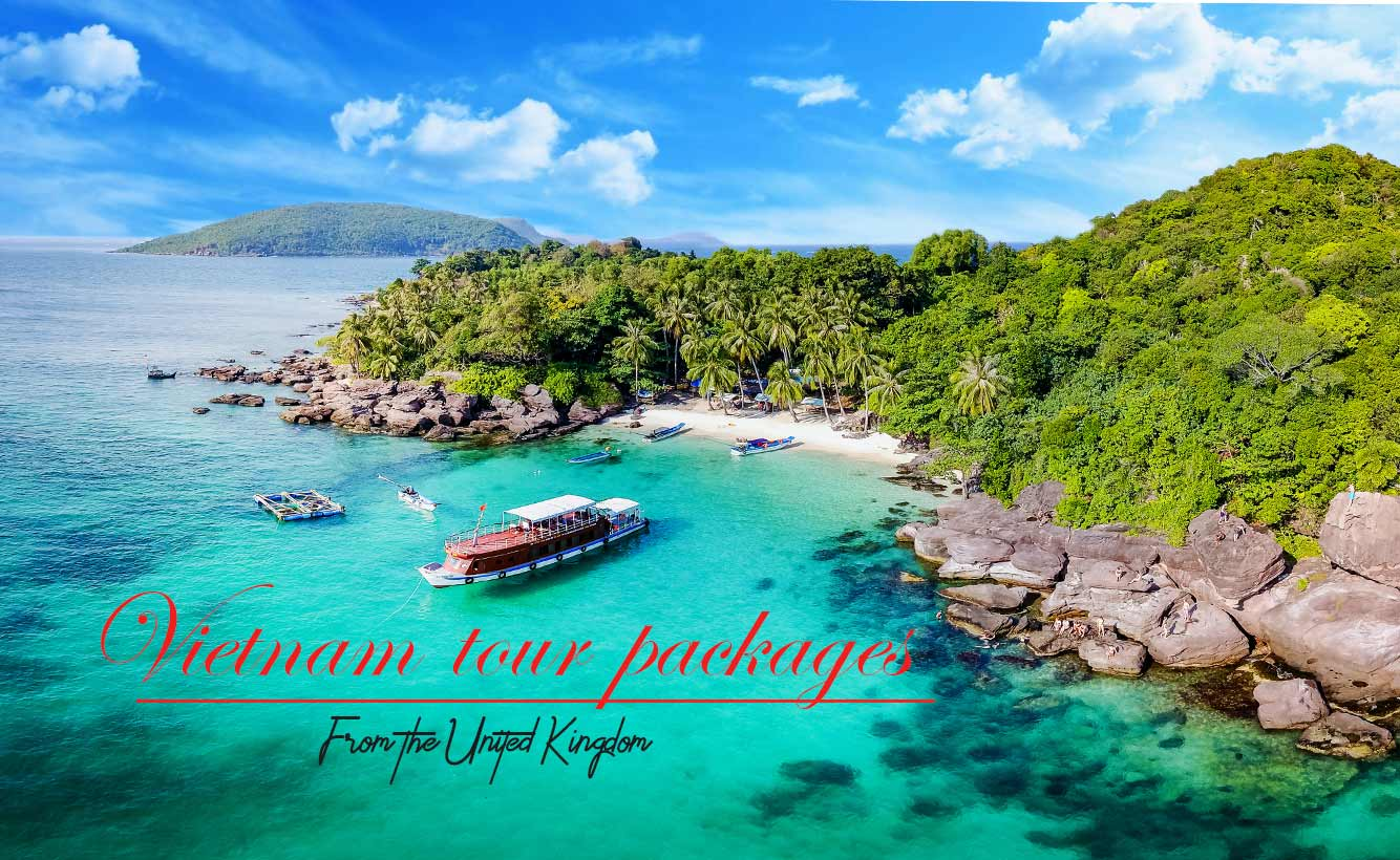 Vietnam tour packages from the United Kingdom