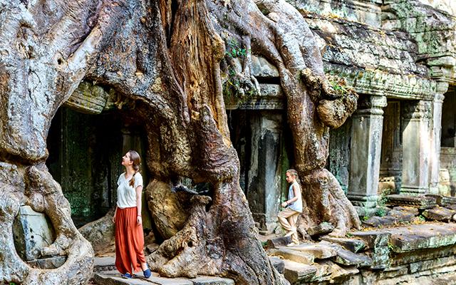 Central Vietnam & Angkor Temples