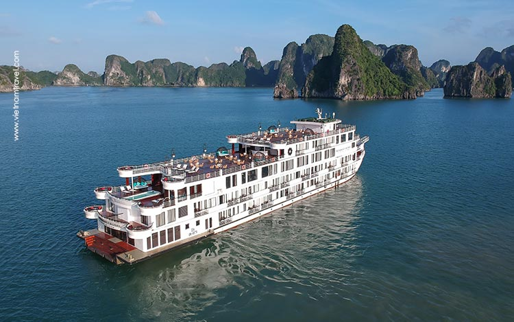 Day 2: Hanoi - Halong Bay - Overnight on President Cruise.