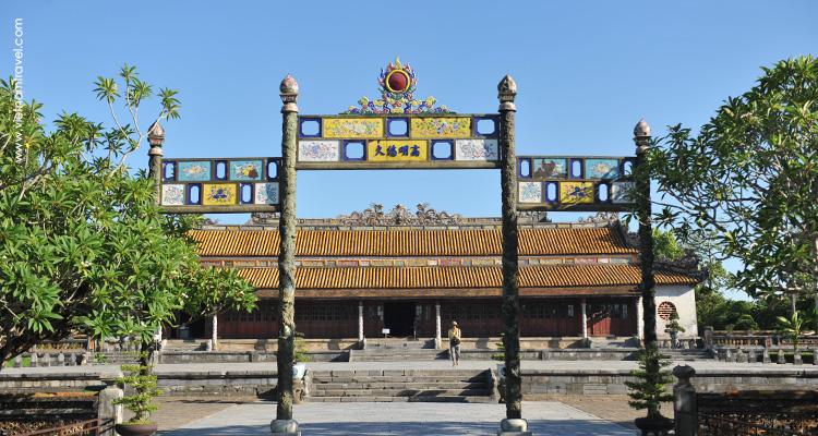 Good access to Hue Citadel