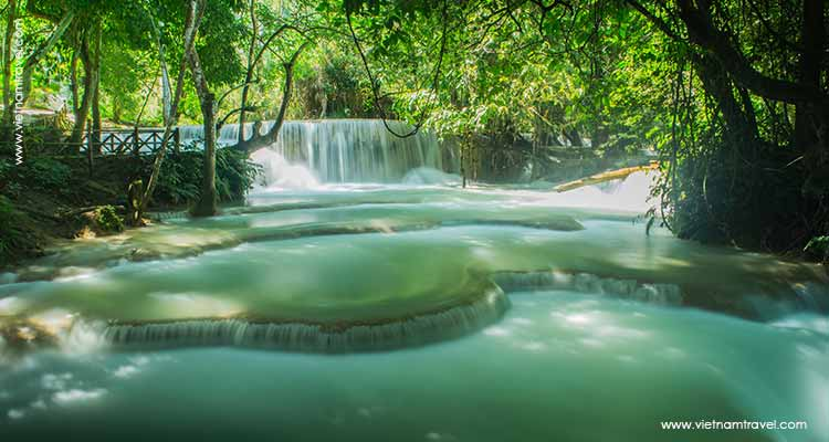 Day 11: Luang Prabang City Tour – Kuang Si Waterfall.