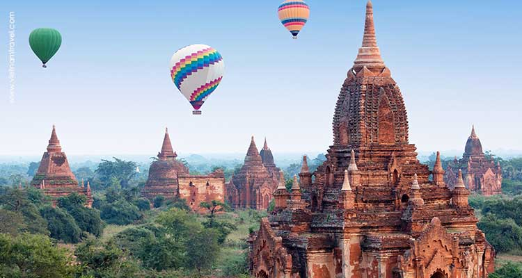 Day 6: Yangon – Fly to Bagan – Sightseeing Tour.