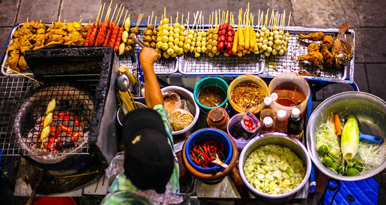 Day 3: Explore Bangkok - Street Food Tour.