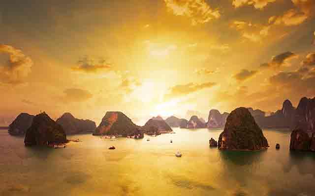 Day 6: Hanoi – Halong Bay – Overnight on cruise