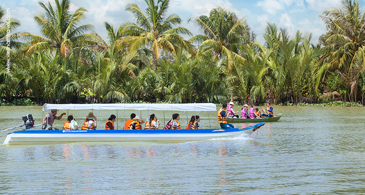 Detailed Program of Ben Tre day trip from Ho Chi Minh City.