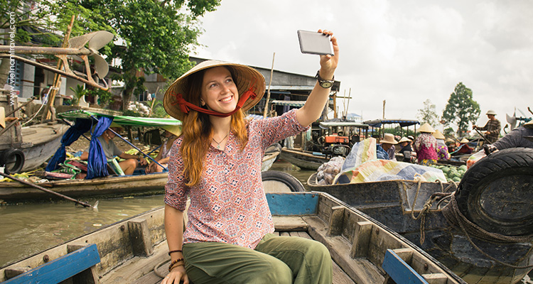 Day 13: Can Tho – Floating market – Saigon.