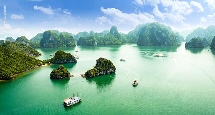 Day 4: Halong Bay – Hanoi.