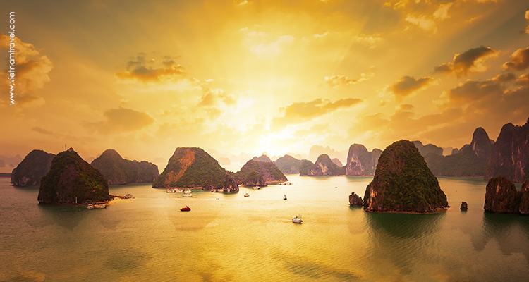 Day 12: Hanoi – Halong Bay – Overnight on cruise.