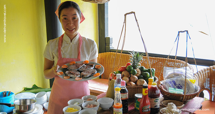 Day 2: Hoian Cooking Class – Walking Tour.