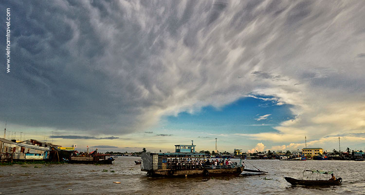 Day 1:  Ho Chi Minh City - My Tho - Tra Vinh.