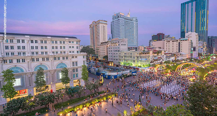 Giorno 1: Arrivo ad Ho Chi Minh