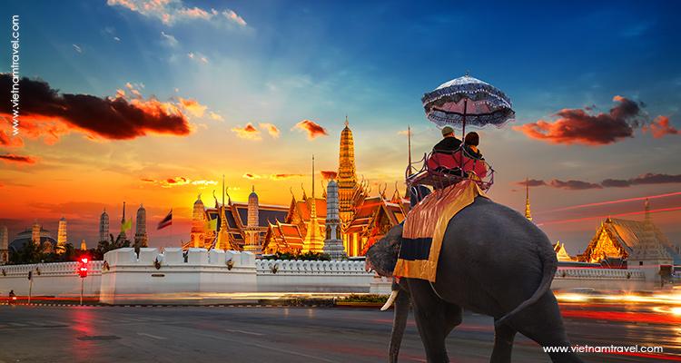 Day 1: Arrive in Bangkok.