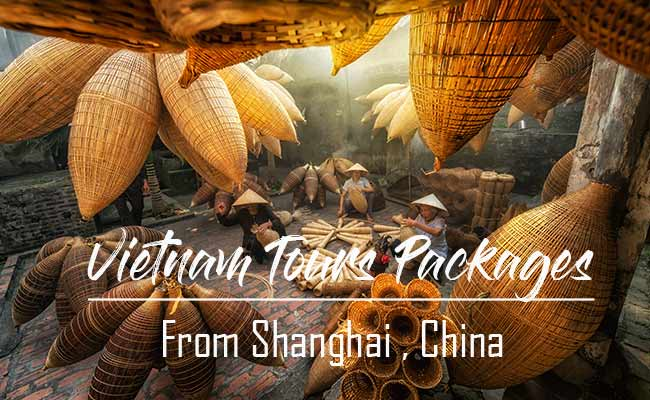 Vietnam tour packages from Shanghai, China