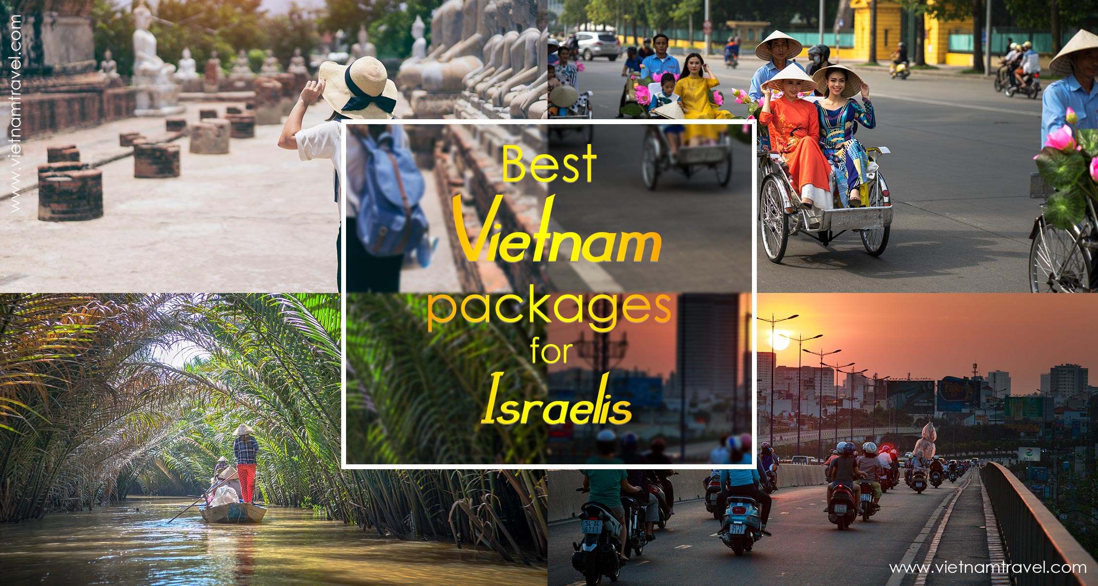 Best Vietnam packages for Israelis