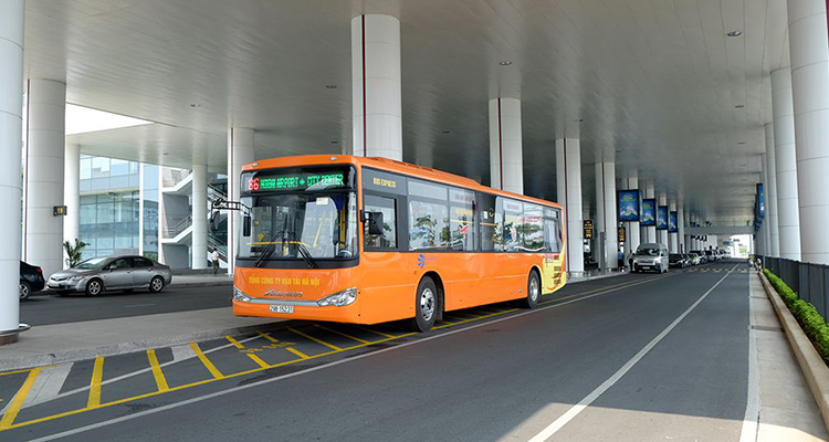 How to get to Hanoi City from Airport-Public Bus