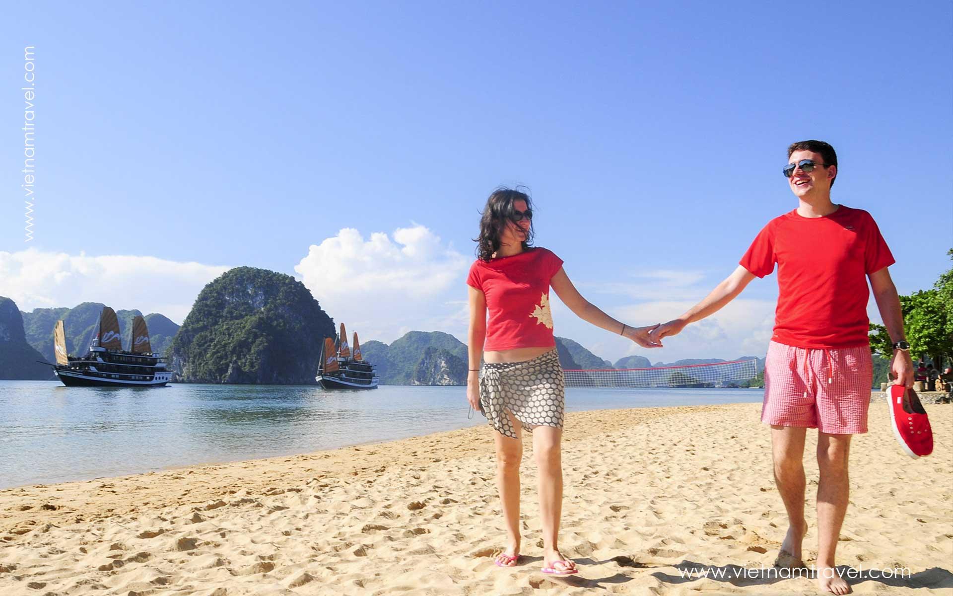 Beach in Centre Vietnam