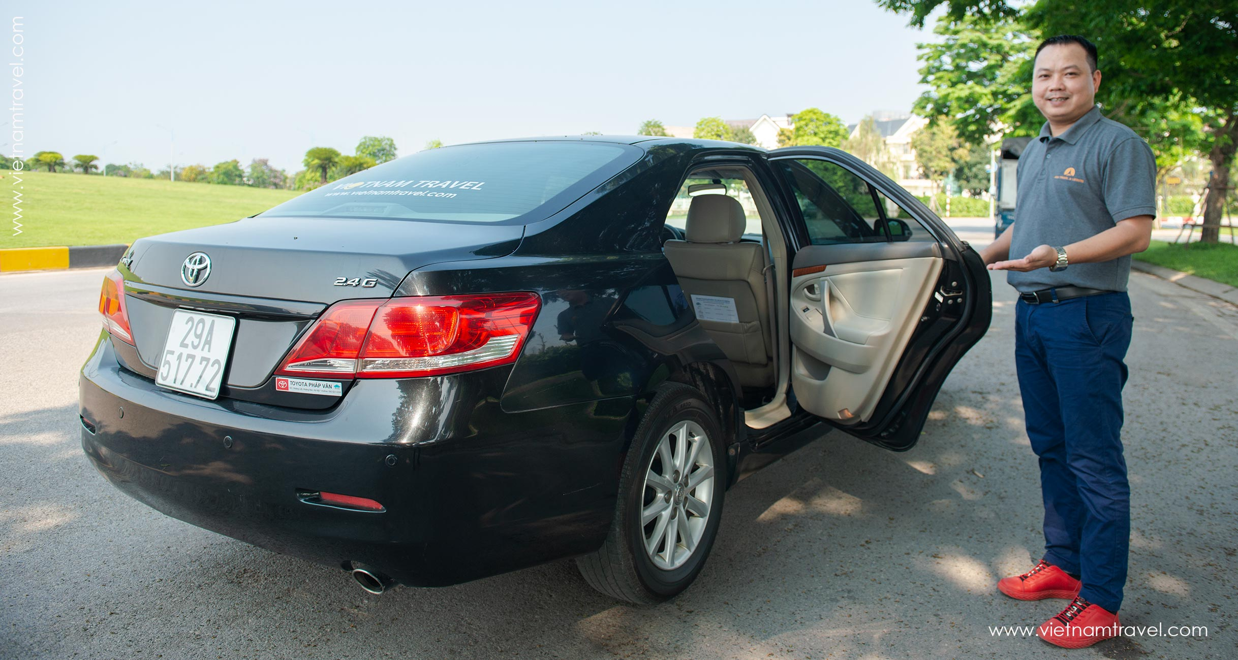 How to get to Hanoi City from Airport-Private Car