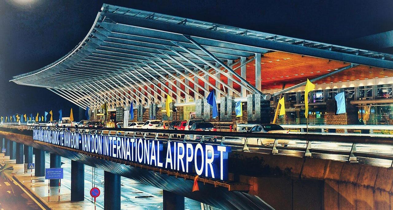 Imamge of vandon airport vietnam
