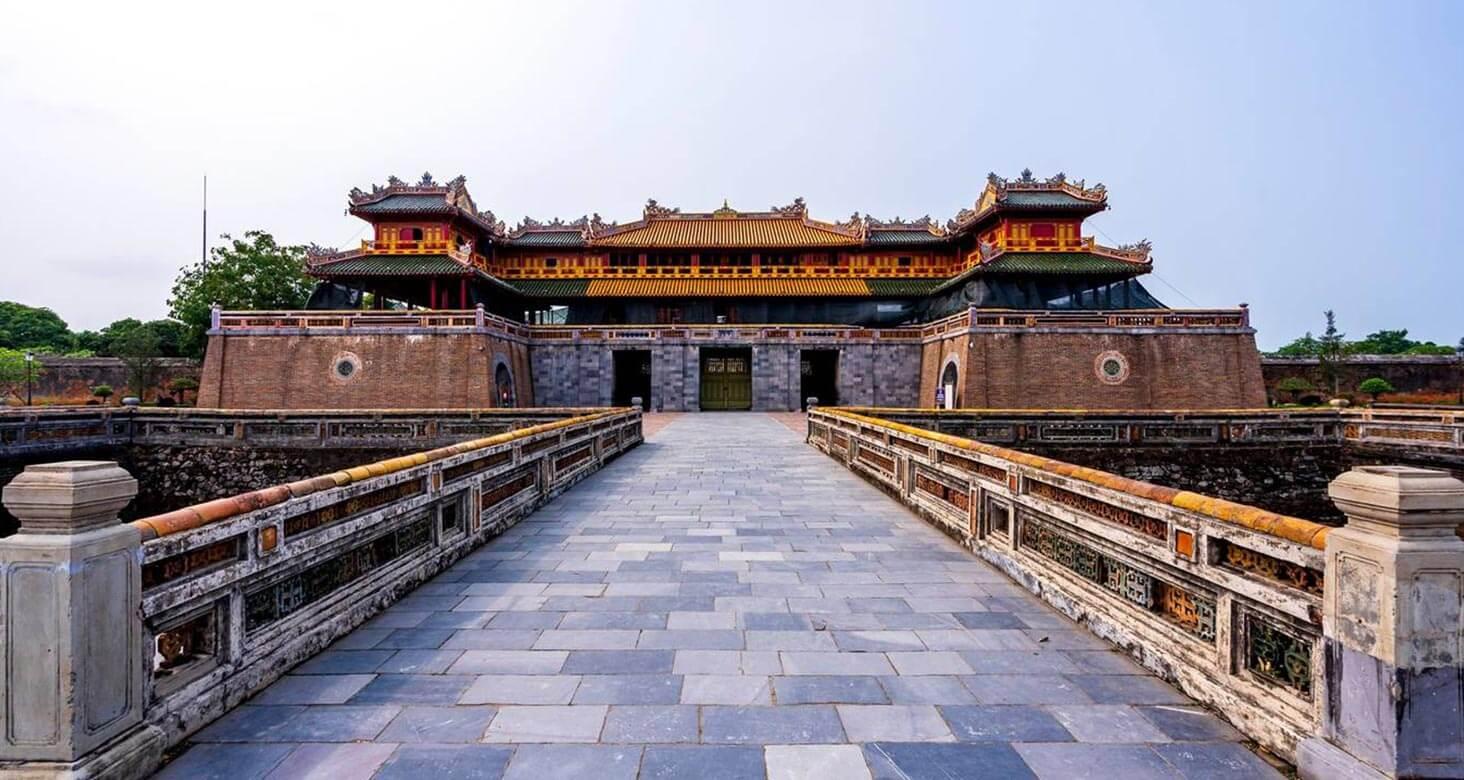 Ngo Mon Gate in hue imperial citadel