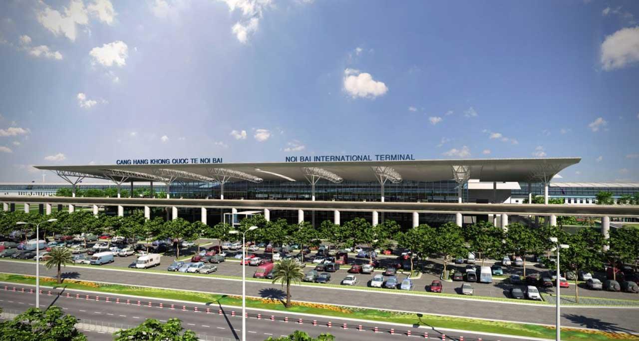 Noibai international airport