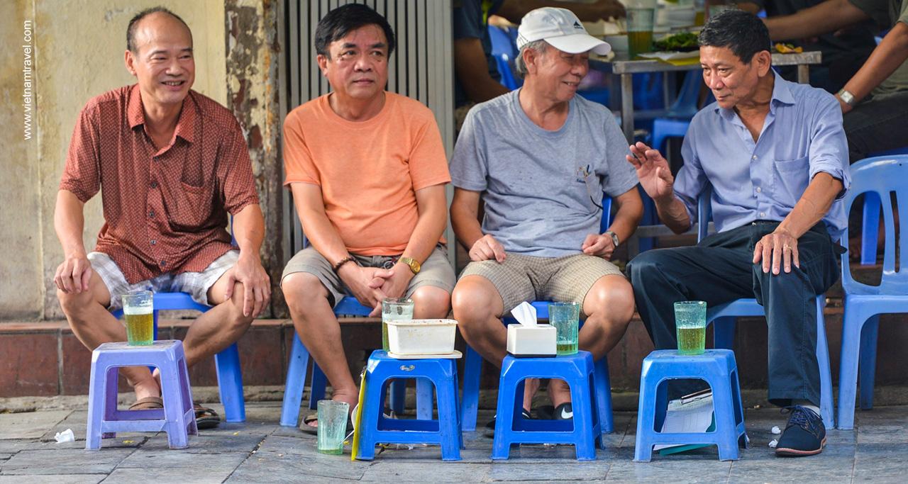Low chair in hanoi