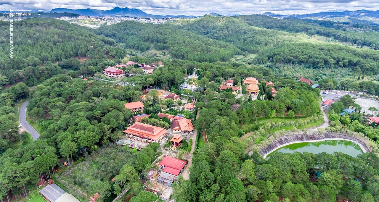 Truc Lam Zen Monastery vietnam