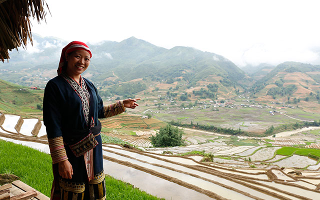 Rice Terraces in Sapa & Photo Tour