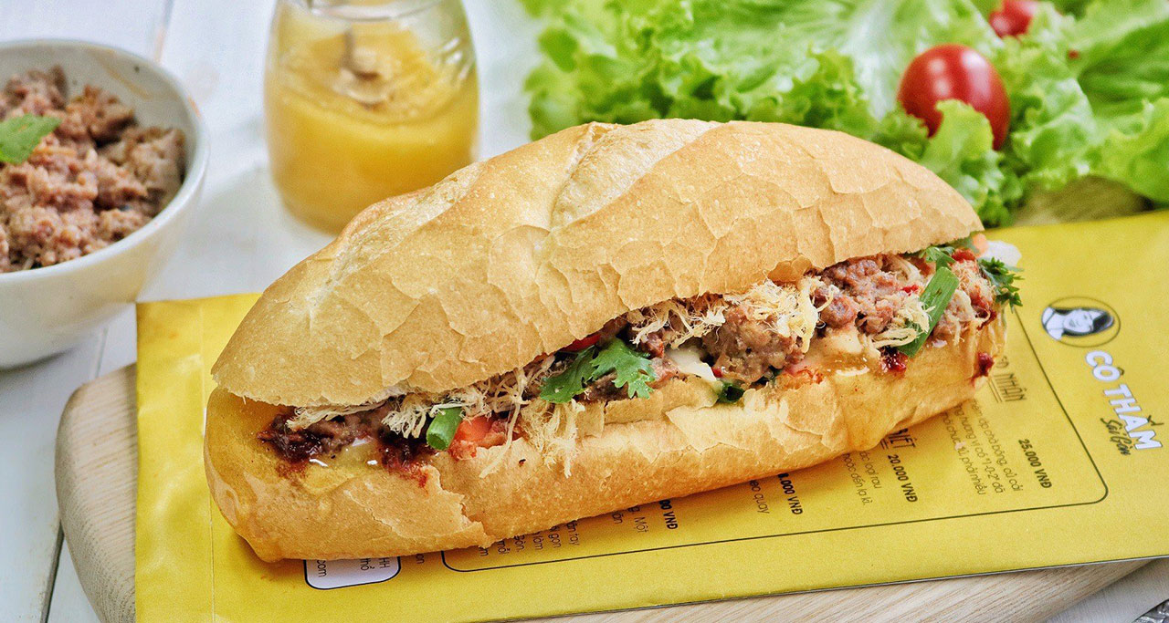 Banh Mi originates from the southern part of the country - Saigon