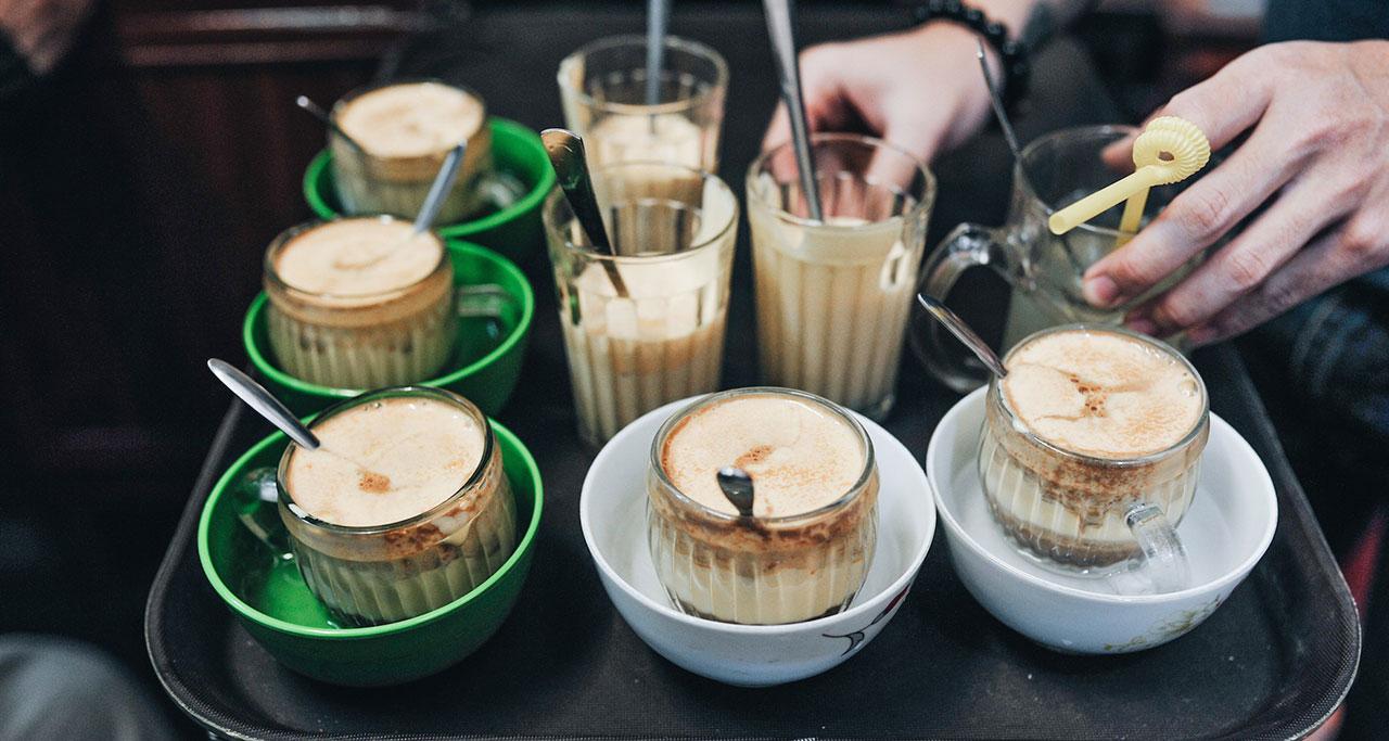 egg coffee vietnam