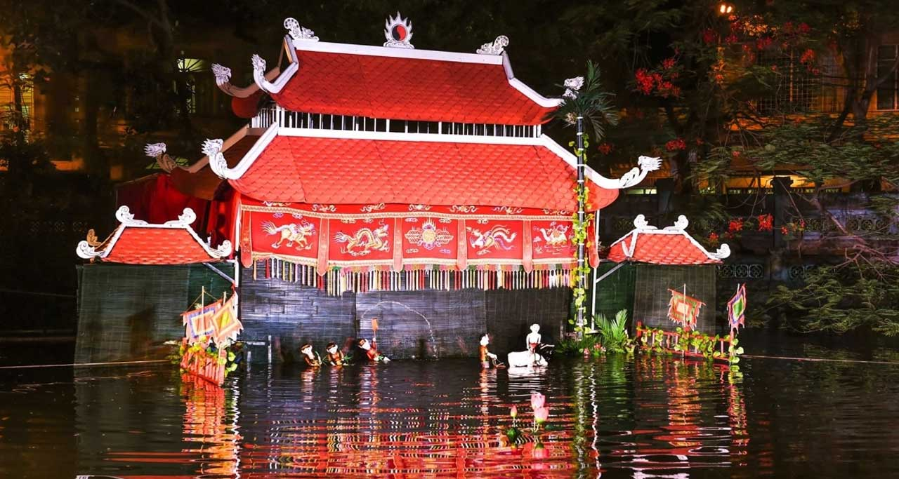 Water puppetry hanoi vietnam