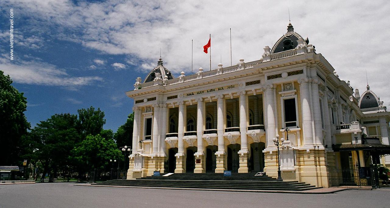 Hanoi Opera House or Grand Opera House