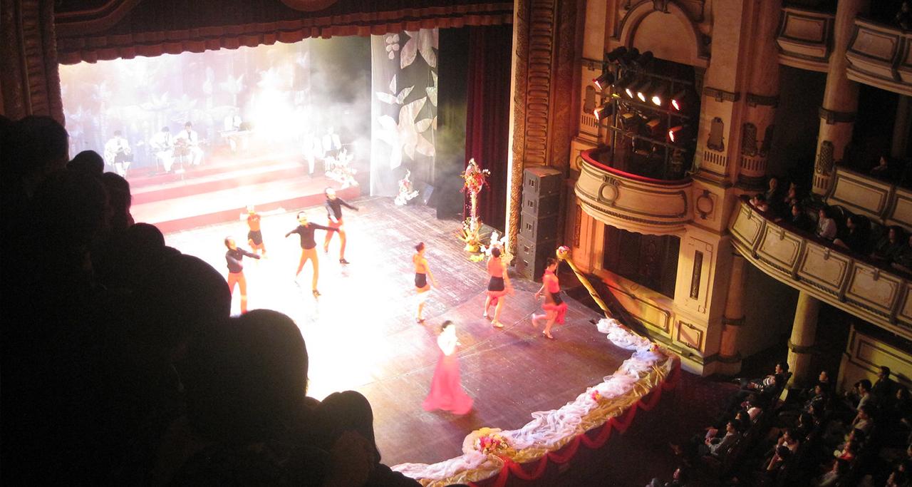 Performance activity in Hanoi Opera House
