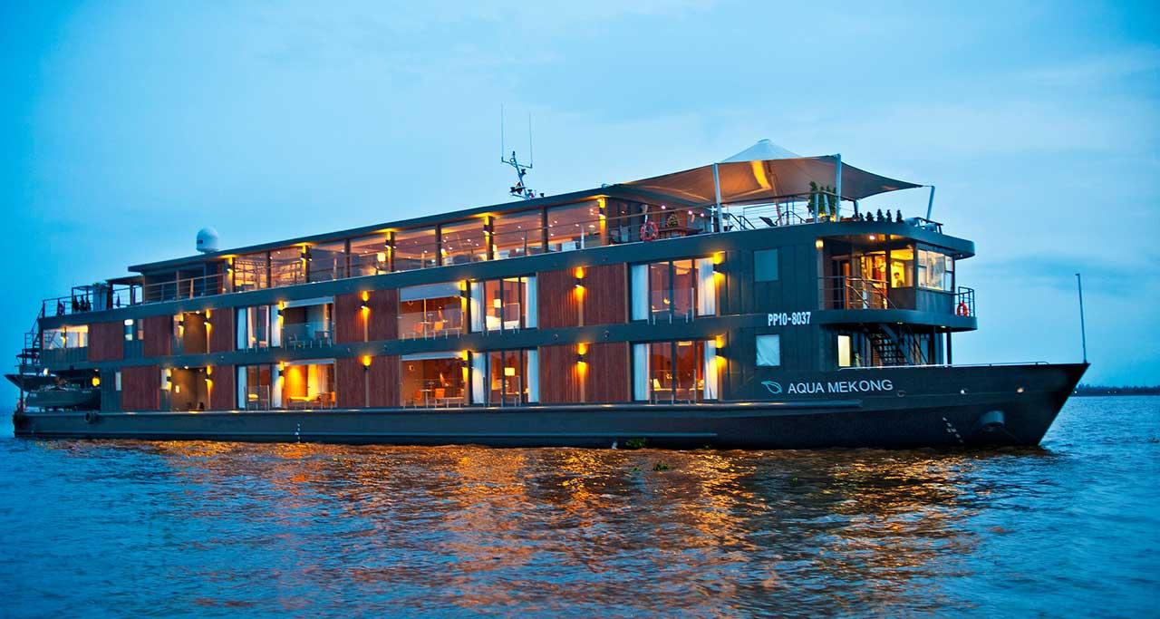 aqua mekong cruise, mekong