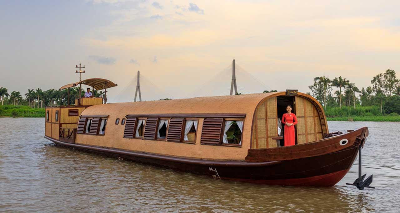 song sanh sampan, mekong cruise
