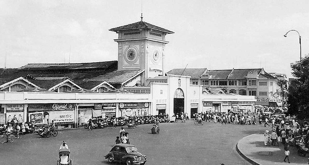 Formerly Ben Thanh Market