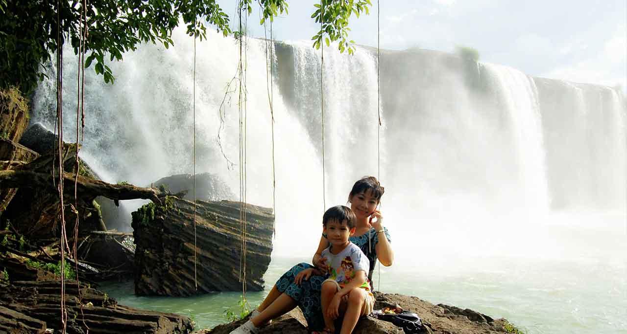 Dray Nur waterfall, Dak Lak Province
