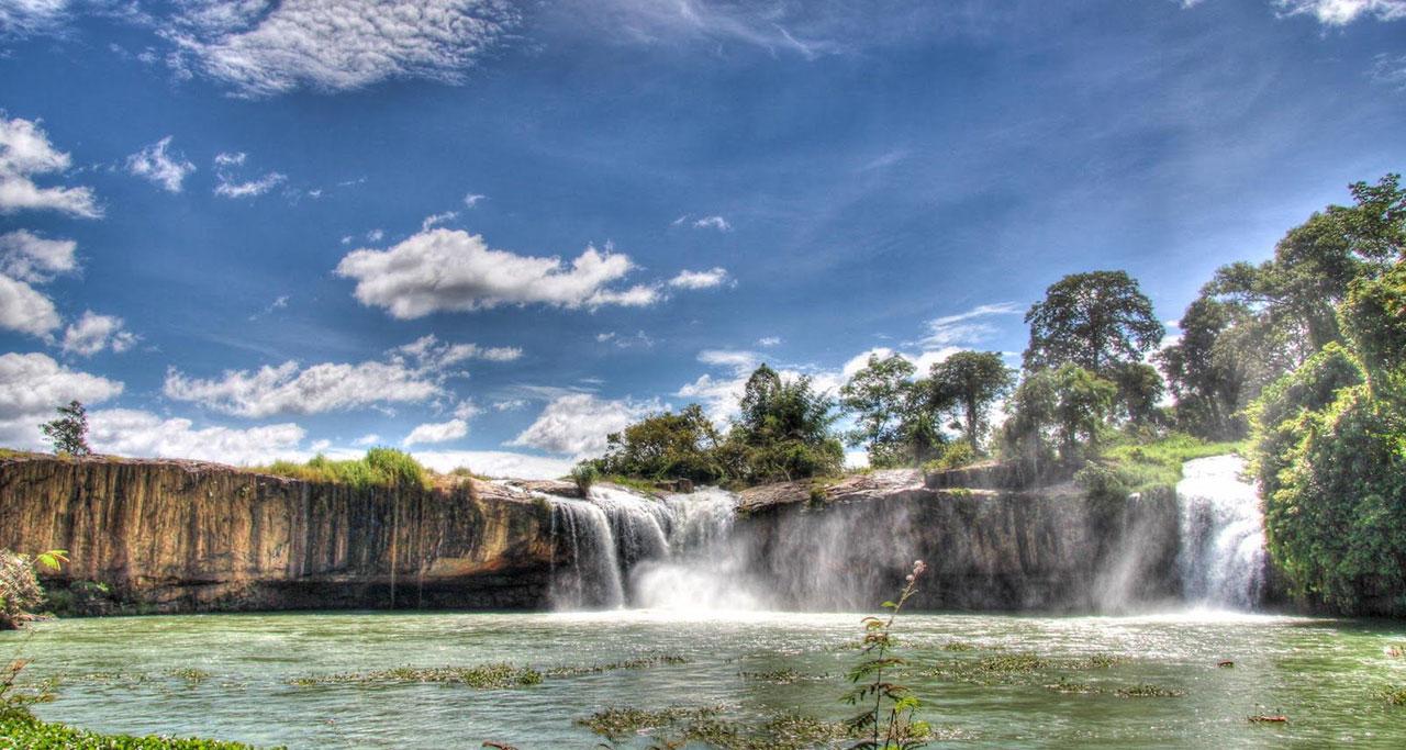 Dray Nur Waterfall, Ea Na, Krong Ana District, Daklak Province.