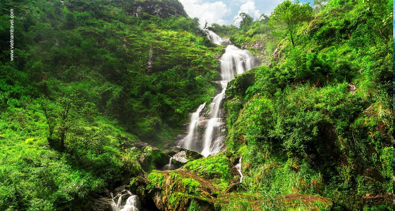 silver waterfall sapa