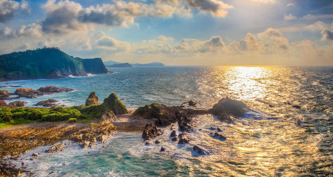 Co To Island, Quang Ninh Province.