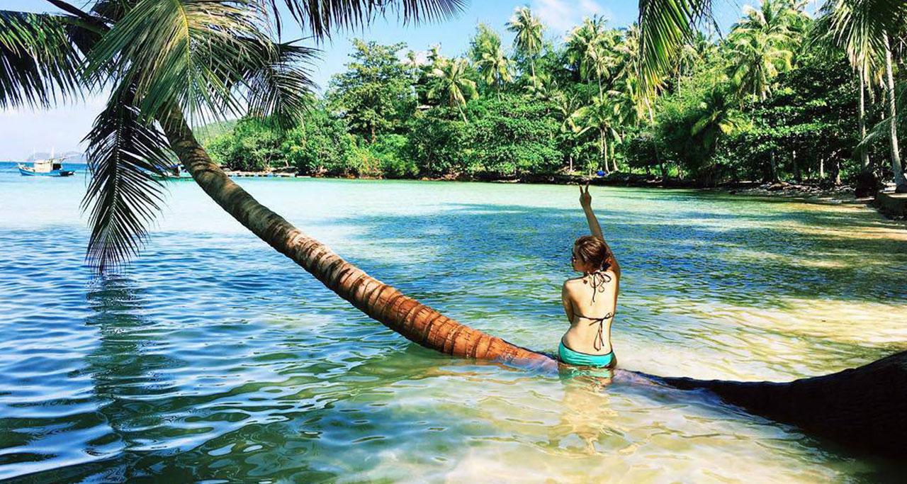 Relax on Nam Du island