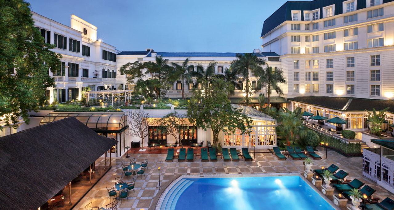 waterpool in Sofitel Legend Metropole Hanoi Hotel