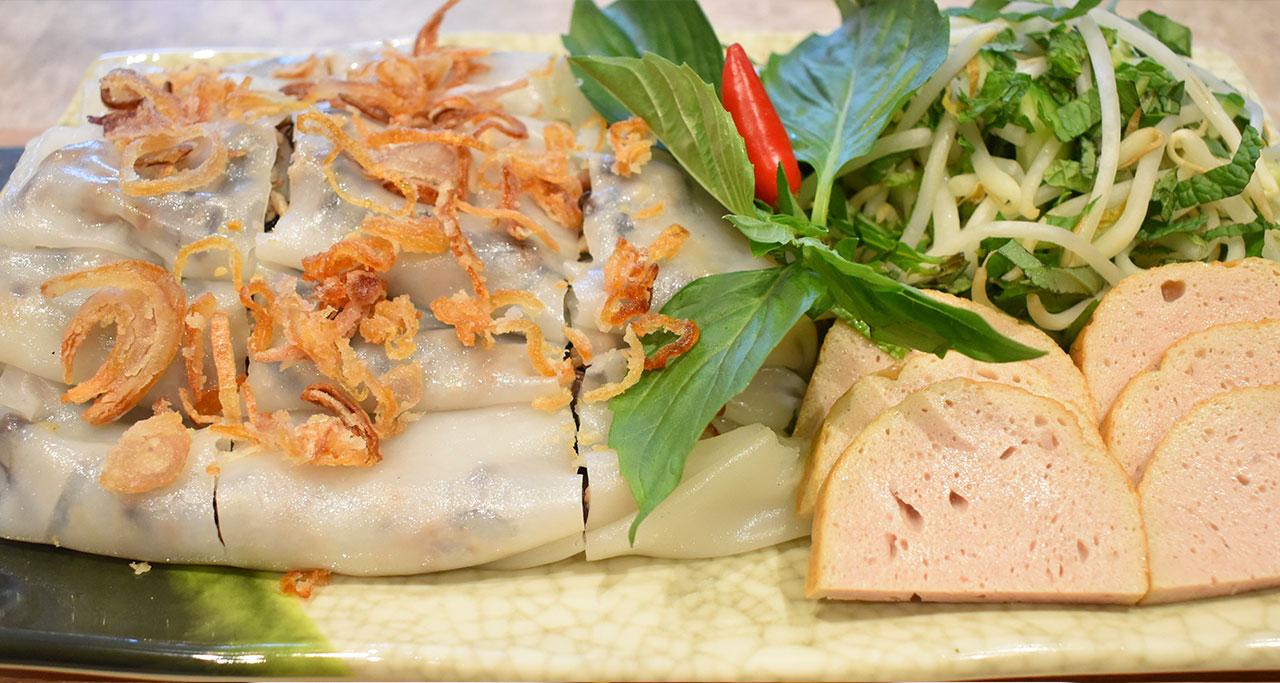 Banh Cuon - Invented in Northern Vietnam but available throughout the country