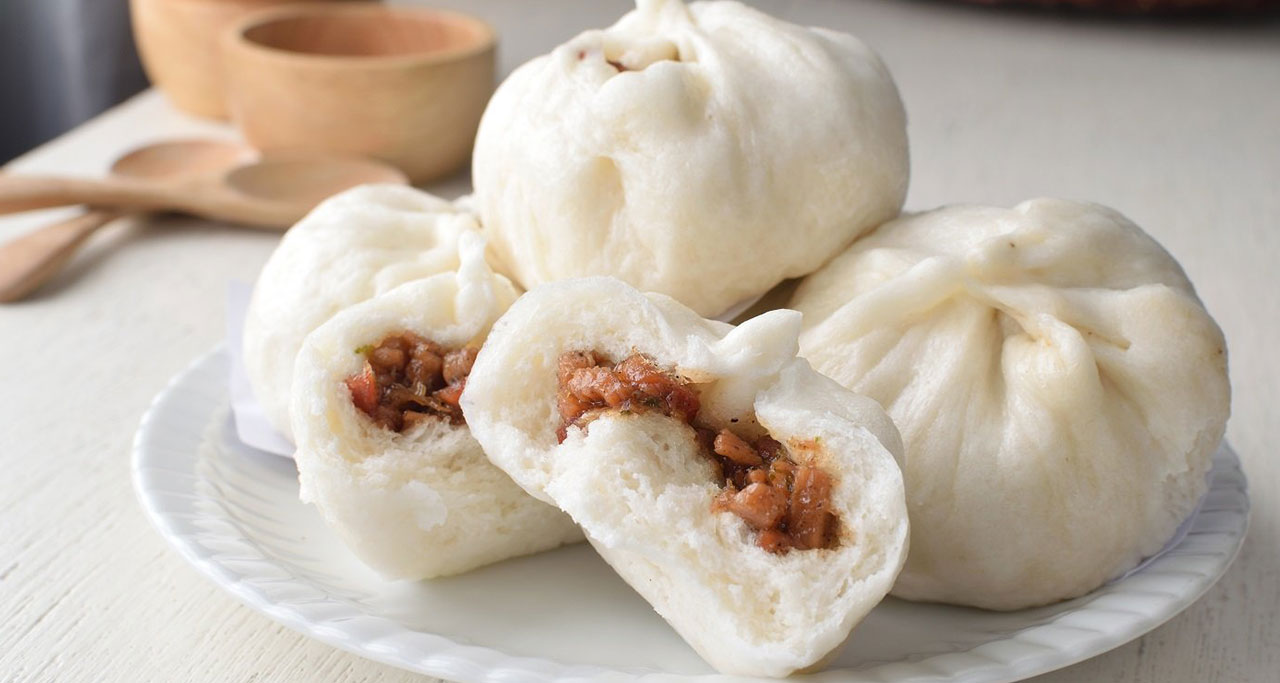Banh Bao is a Vietnamese bun that is said to be originated from China