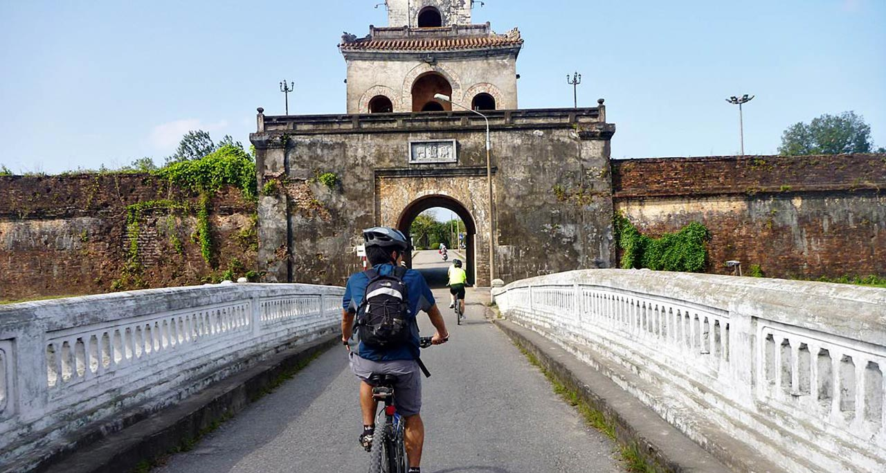 An Ancient Gate of Imperial city of Hue