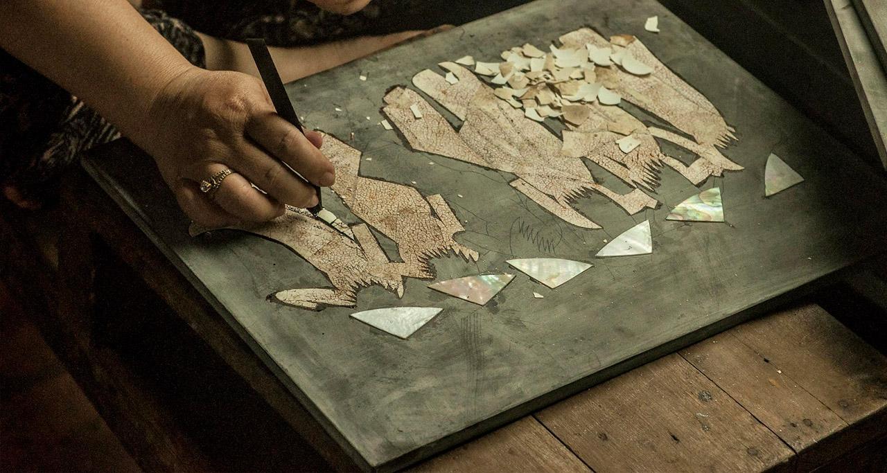 Making Lacquerware in Vietnam