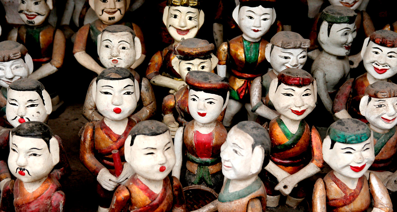 Vietnamese's Puppets