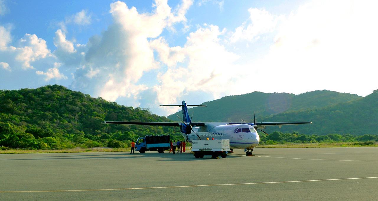 flight to Con Dao Airport