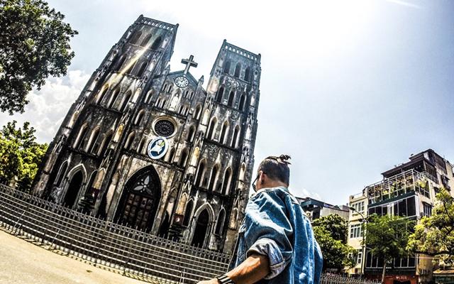 St Joseph's Cathedral Hanoi, Vietnam