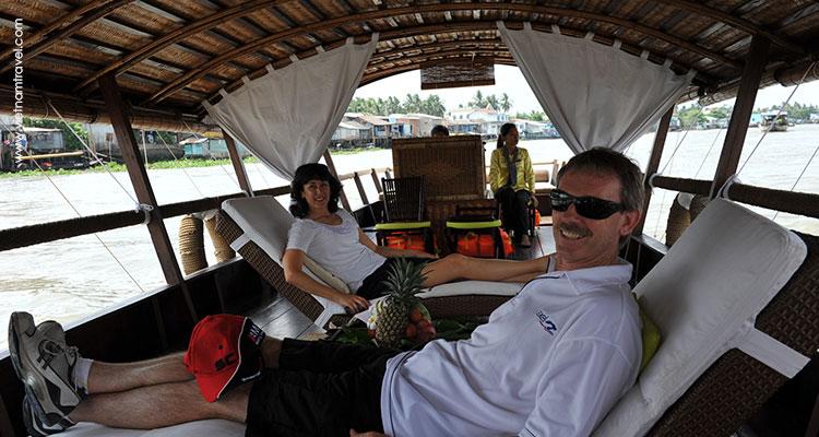 Cruise trip on Mekong river